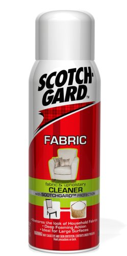 3M Scotchgard Fabric And Upholstery Cleaner, 14-Ounce (1014D) back-1065499