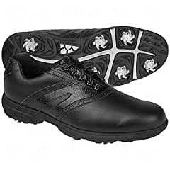Buy Etonic Lite-Tech Golf Shoes All Black Size 8M by Etonic