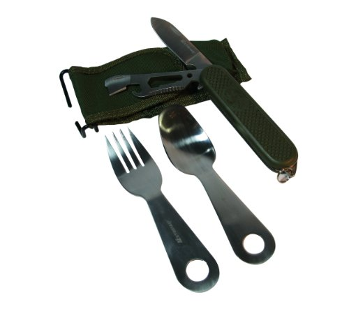 AExtrema Camping Multifunction Flatware Tool