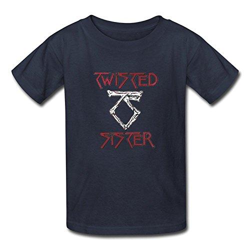 Goldfish Youth Quotes Short Sleeve Twisted Sister T-Shirt XLarge