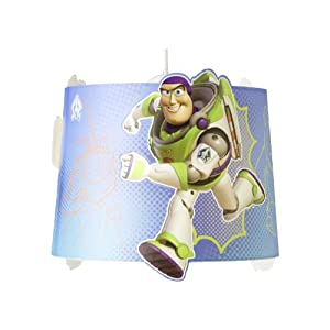 Disney Toy Story Glow In Dark Pendant Ceiling Light Shade from Brilliant