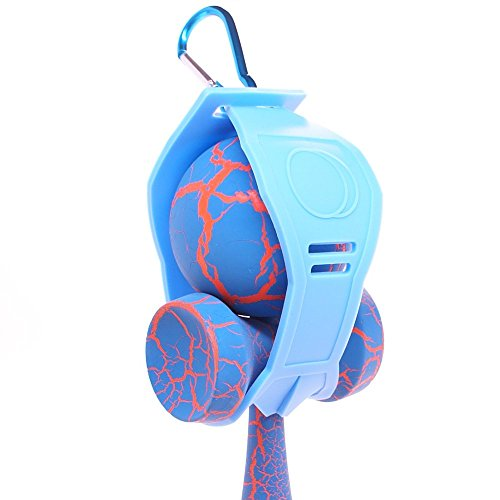 Baby Blue Silicone Kaleb Kendama Holder With Clip