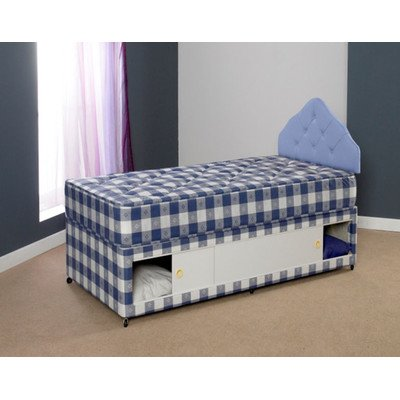 Paris Divan Bed Size: Small Double, Storage: With 4 drawer