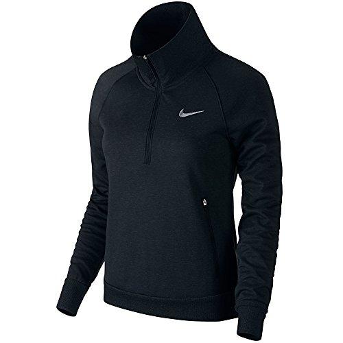 Nike Windblock 1/2 Zip Golf Pullover 2015 Ladies Black/Black/Wolf Grey Medium