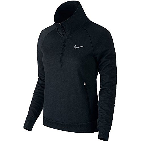 Nike Windblock 1/2 Zip Golf Pullover 2015 Ladies Black/Black/Wolf Grey Small