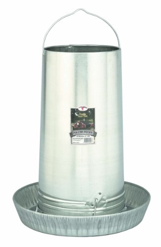 Little Giant17 inch Galvanized Hanging Poultry Feeder Tubes  914273 (Tube Chicken Feeder compare prices)