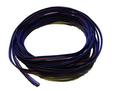 20m LED RGB Strip Kabel 4-adrig Verlängerungskabel Anschlusskabel Verbindung