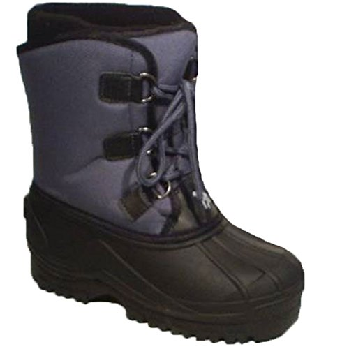Slam TEX Winter- Stiefel Schnee-Boots grau schwarz