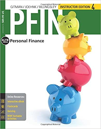 PFIN 4 (with CourseMate, 1 Term (6 Months) Printed Access Card) (New, Engaging Titles From 4LTR Press)