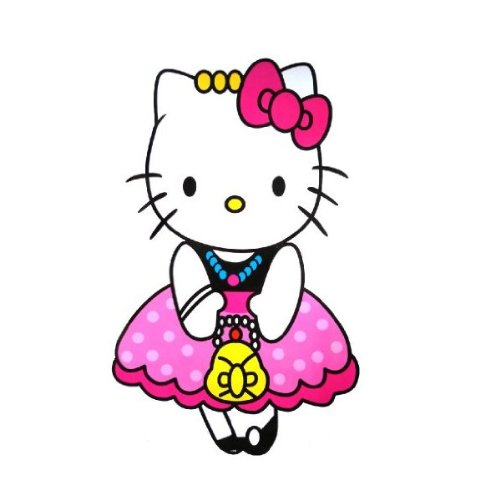 Giant size hello kitty wall sticker wall decal yc898 609586082419