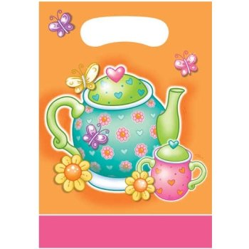 Creative Converting Tableware Tea For You Party Set (Loot Bags)