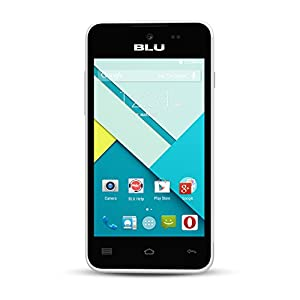 BLU Advance 4.0L Unlocked Smartphone -US GSM - White