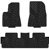 hansheng for BMW X4 F26 Car Floor Mats Luxury Custom FloorLiner Auto Mats All Weather 3D Protector Car Floor Mats Carpets Black//Beige, X4-F26-2014~2018