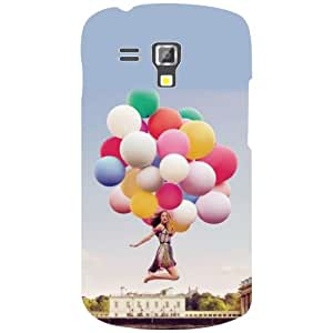 Samsung Galaxy S Duos 7582 Balloons Matte Finish Phone Cover