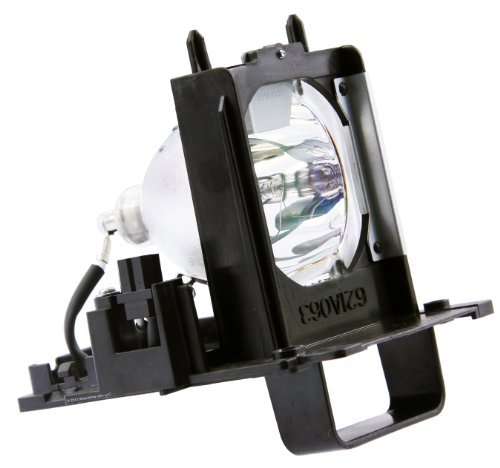 Philips OEM PHI/334 Mitsubishi 915B455011 DLP Replacement Lamp with Housing (Mitsubishi Wd 73740 Bulb compare prices)