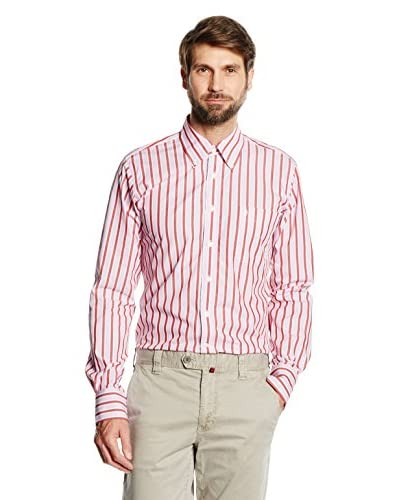 CONTE OF FLORENCE Camisa Hombre Rosa