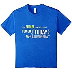 Successful Young Entrepreneurs Inspirational T Shirt - Kids 4 - Royal Blue