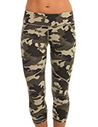 Blockout Womens Camouflage Print 3/4…