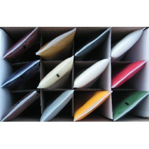 Complete 12 Coloring Paste Set for Epoxy Gluing or Repairing of Granite, Marble, Arts and Crafts