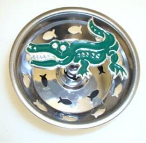 Animal Sink Strainers - Alligator