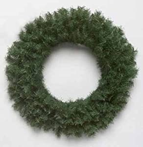 "20"" Canadian Pine Artificial Christmas Wreath - Unlit"