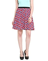 Printed Skater Skirt Small