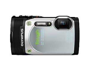 Olympus  Stylus TG-850 IHS 16 MP Digital Camera (Silver)