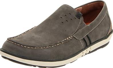 (降价)Clarks Men's Unstructured Un.Phenom 其乐优跃真皮休闲鞋棕色$60.57线未更