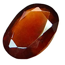 4.22 ct. / 4.69 Ratti Natural & Certified Hessonite Garnet (Gomed) BIRTHSTONE BY ARIHANT GEMS & JEWELS
