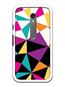 KanvasCases 2D Printed Back Cover For Motorola Moto G3 + Free Earphone Cable ...