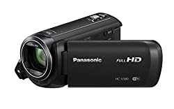 Panasonic HC-V380 Full HD Video camera With Carry case & 16GB Class 10 Memory Card