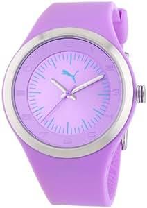 Puma Time Damen-Armbanduhr Spot Purple Analog Quarz Plastik PU102642002