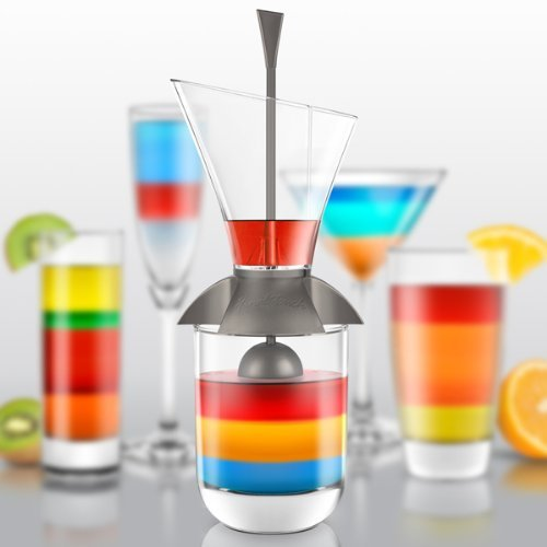 Final Touch Glass Rainbow Cocktail Layering Tool