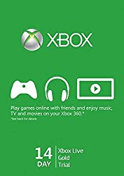 Microsoft Xbox Live 14 Day Trial Code