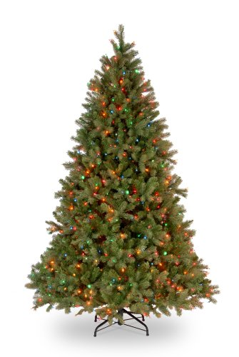 National Tree Company 7-1/2-Feet Downswept Douglas Fir Tree with 750 Multicolor Lights
