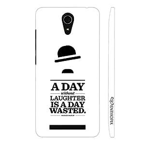 Enthopia Designer Hardshell Case Laugh Everyday Back Cover for Asus Zenfone 6