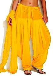 I wonder Salwar and Duppata Yellow