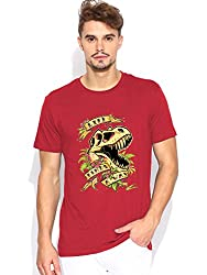 Life finds a way Red T-shirt