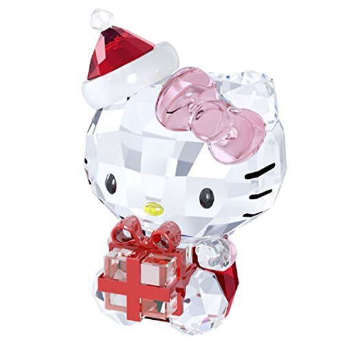 Swarovski 5058065 Hello Kitty regalo di Natale, 6,9 x 4 x cm