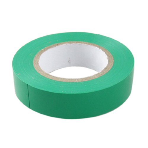 Amico Pvc Wire Splicing Insulating Self Adhesive Electrical Tape, 18M Length X 17Mm Width, Green
