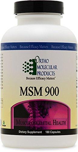 Ortho Molecular - MSM 900 - 180 Capsules (Msm 900 compare prices)