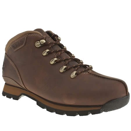 Timberland Splitrock - 8.5 Uk - Dark Brown - Leather