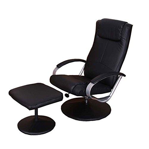 Relaxliege-Relaxsessel-Fernsehsessel-N44-mit-Hocker-schwarz