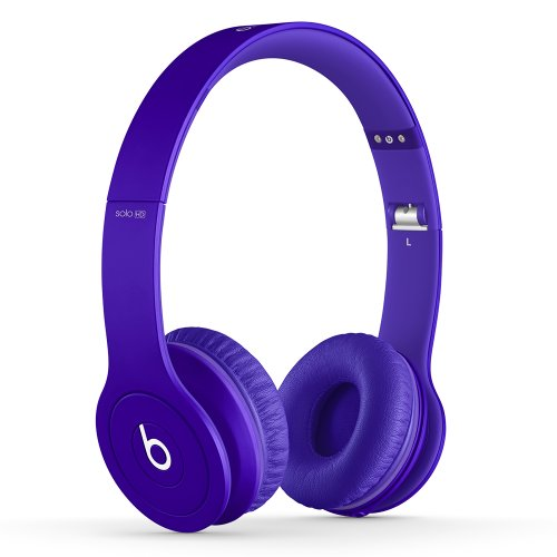Beats Solo HD On-Ear Headphones (Drenched in Purple)