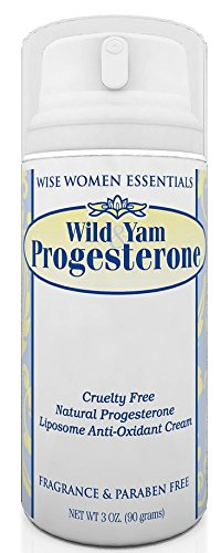 Wise Essentials - Bio-identical Natural Progesterone Cream And Wild Yam - Chaste Tree Berry - Non GMO - No Parabens, - 1