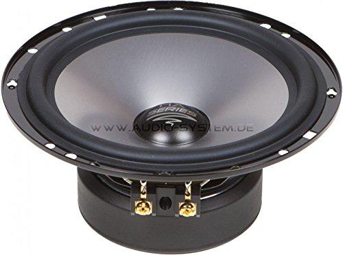 AUDIO sYSTEM eX165SQ aUDIO sYSTEM haut-parleur basse-médium/paire)