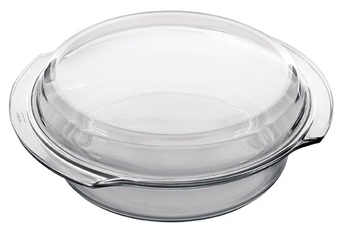 Marinex 3.2 Quart Round Flat Casserole with Lid