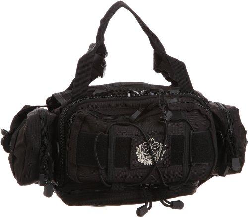 [ジエイタイ] 自衛隊 大収納 4way 大型ウエストバッグ   BK (ブラック)