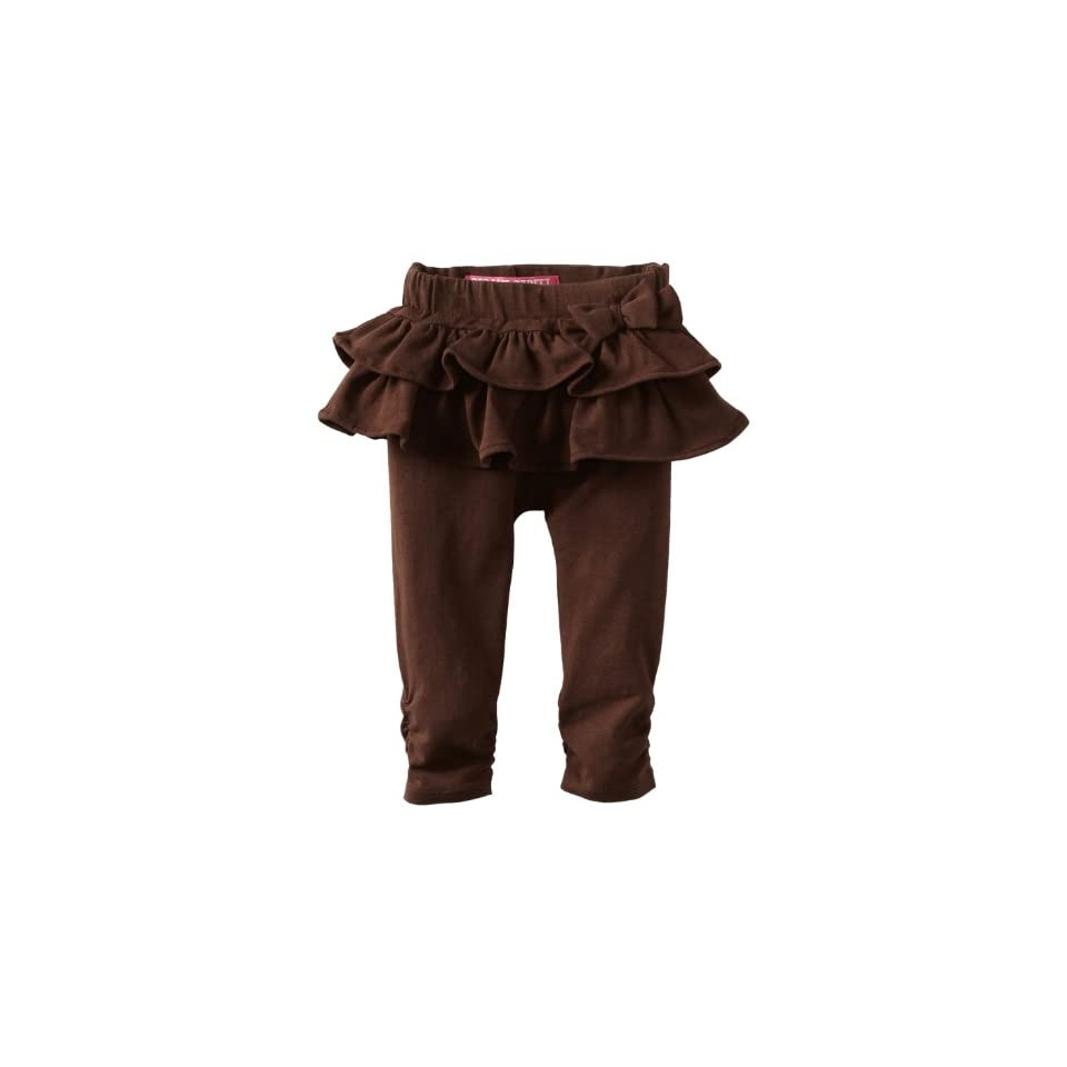 Watch Me Grow by Sesame Street Baby Girls Knit Skegging, Brown, 12 Months
