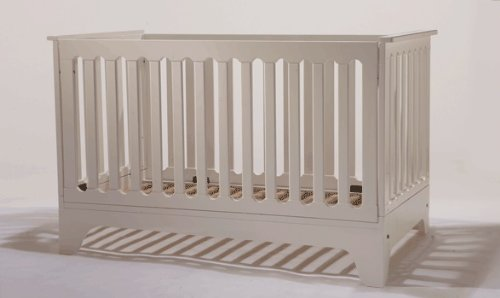 Pali Presto Fixed Sides Folding Crib - 1